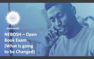 NEBOSH IGC Open Book Exam